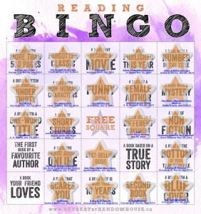 Reading Bingo Progress